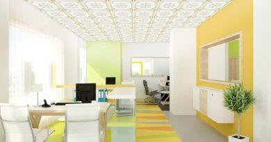 Mẫu trần nhựa thả 60×60 cao cấp cho phòng khách phòng ngủ giật cấp đẹp nhất 2020