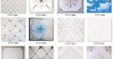 Trần nhựa thả giá bao nhiêu tiền 1m2 Trọn gói tại hà nội tấm 60×60 hoa văn theo m2